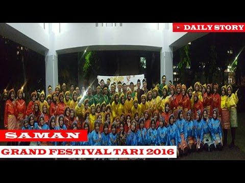 GRAND FESTIVAL TARI 2016 ( 101 SAMAN ) UNIVERSITAS BRAWIJAYA