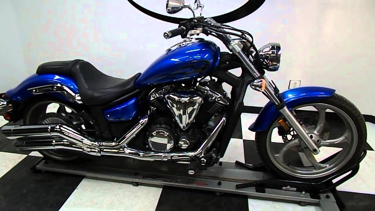 Yamaha Xvs13calc Stryker Blue
