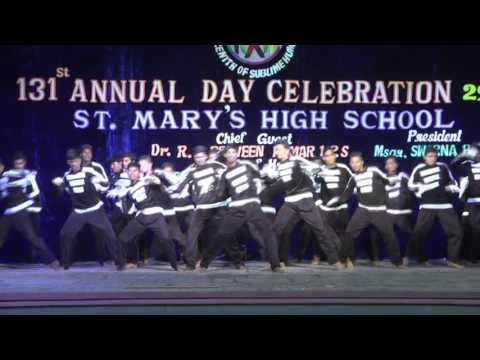 Annual day programme 2016 of st marys high school