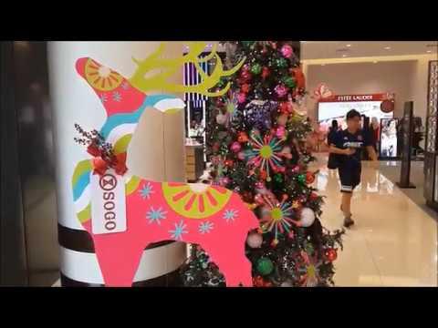 Kuala Lumpur Shopping Mall Christmas Decoration  2017