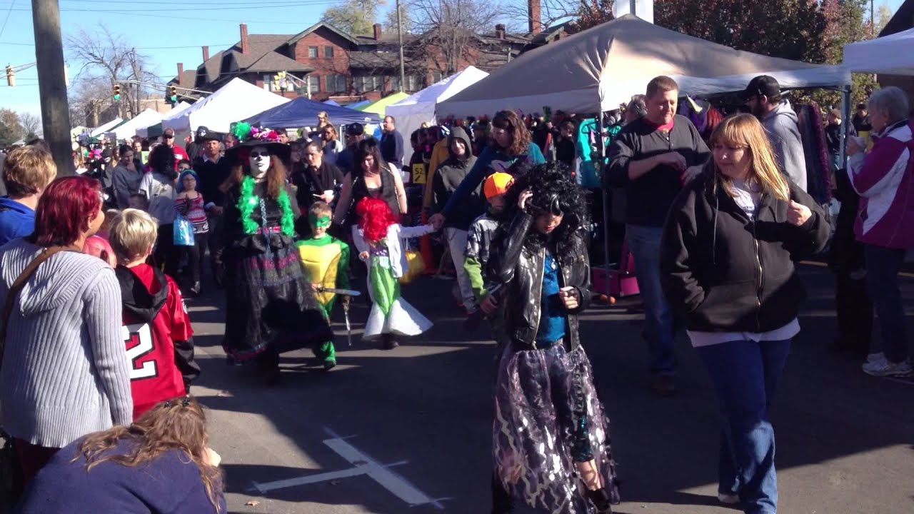 2012 Costume Parade - Irvington Halloween Festival - YouTube