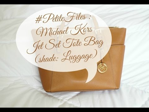 Michael Kors Jet Set Bag (Review) + How it looks like on Petite Girls