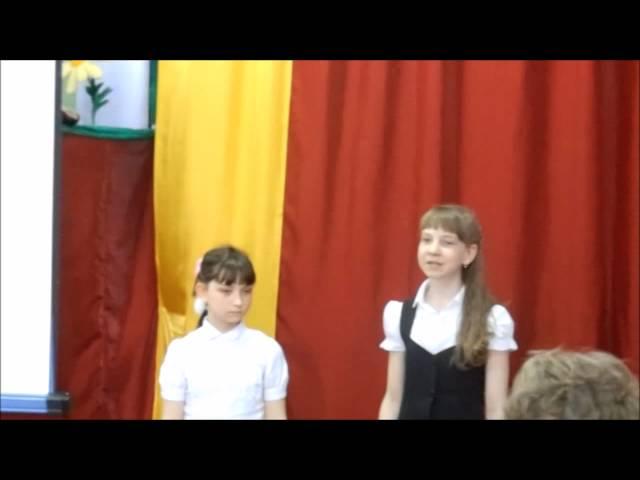 Изображение предпросмотра прочтения – «Елена Жарникова и Юлия Шмакотина» читает произведение «Слёзы ветерана» М.С.Сафиулина
