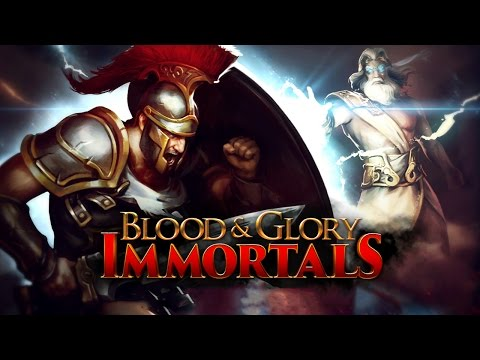 Blood & Glory: Immortals - iOS / Android - HD (Sneak Peek) Gameplay Trailer (Gladiator)