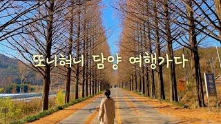 [전라남도 여행] 담양 //메타세콰이아랜드//관방제림/…