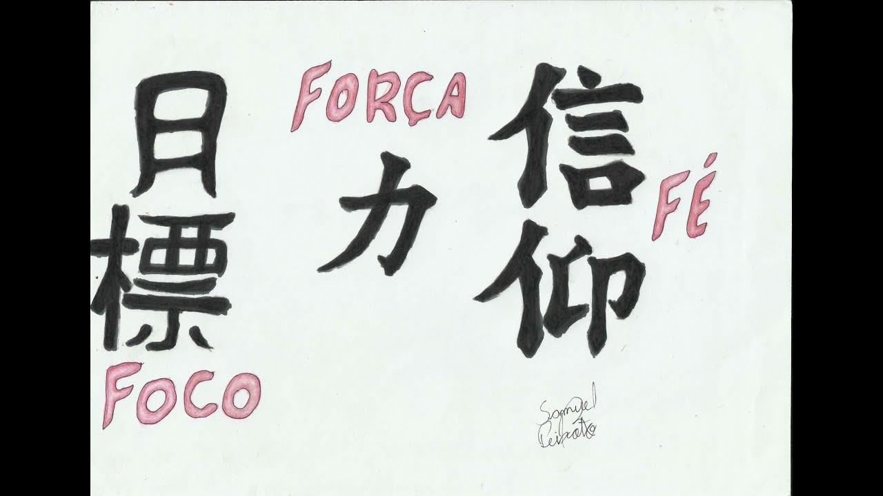 Drawing Symbols FOCUS,STRENGTH,FAITH