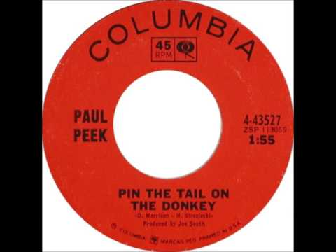 Paul Peek - Pin The Tail On The Donkey