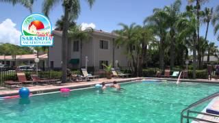 Tropical Beach Resorts on Siesta Key