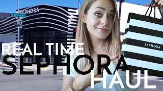 Real Time SEPHORA Haul! | Fleur De Force