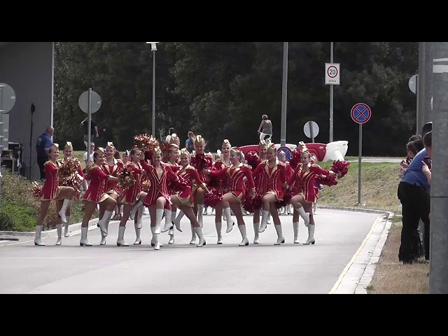 AP klub Brušperk - Top Teens / Mistrovství Evropy mažoretek 2019 Győr - Classic POM senior defilé