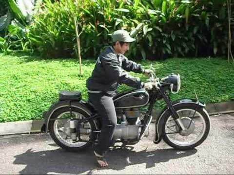 Bmw R25 3 1955 Bandung Indonesia Youtube