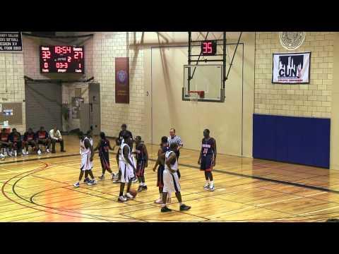 Men's Basketball: Queensborough vs. Nassau CC (11/16/10)