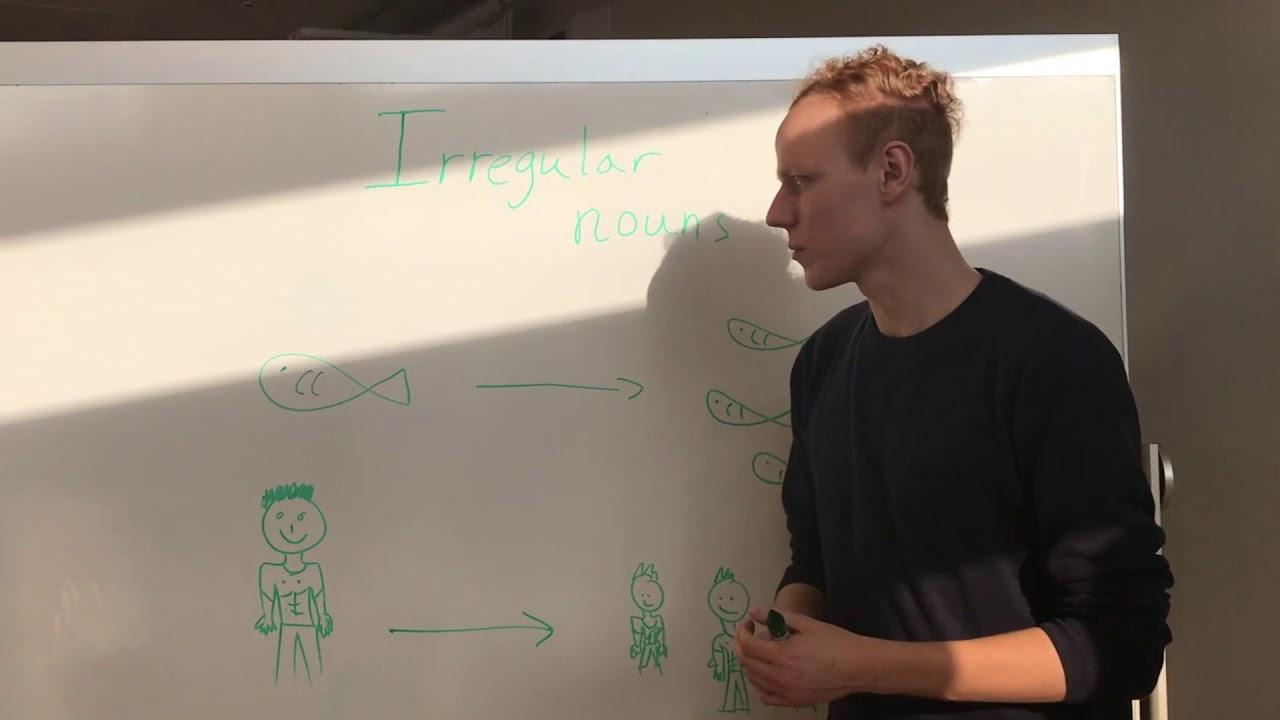 Engelsk grammatik, video-præsentation