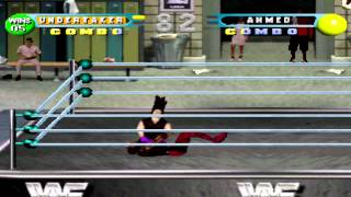 WWF in Your House Gameplay with The undertaker (PSX,PsOne,Playstation)