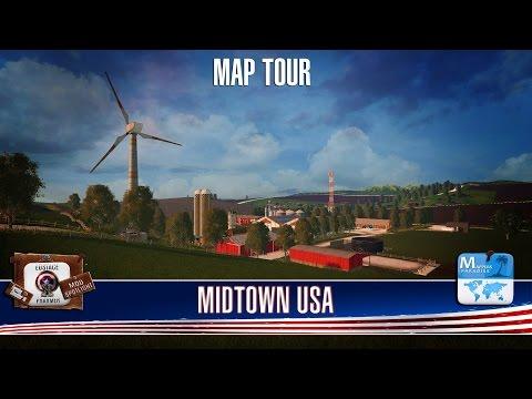 MIDTOWN USA MAP TOUR