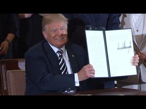 Trump signs executive order on military spouse employment Mp3