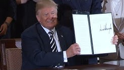 Trump signs executive order on military spouse employment