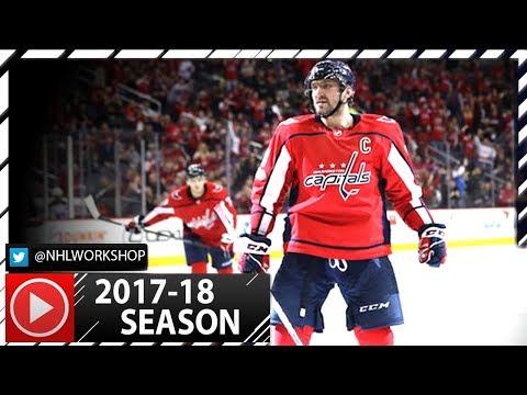 Alex Ovechkin 2017-2018 NHL Season All Goals So Far. 19 Goals. (HD)