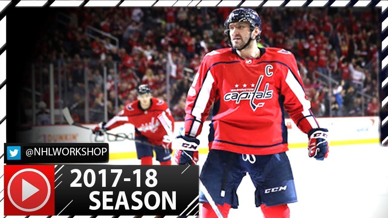 Alex Ovechkin 2017-2018 NHL Season All Goals So Far. 19 Goals. (HD ... 18b8c5d6f95d