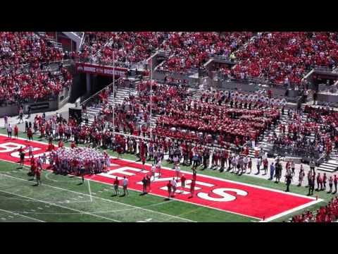 OSUMB Spring Game 2016 Athletic Band Stand Tunes