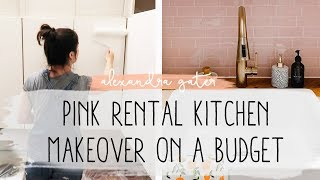 DIY SMALL RENTAL KITCHEN MAKEOVER | MY RENTAL RENO S1 E7