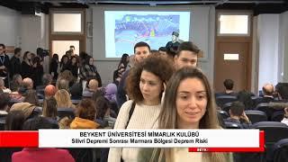 Silivri Depremi Sonrası Marmara Bölgesinde Deprem Riski Etkinliği (Prof. Dr. Şener Üşümezsoy)