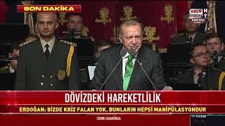 Cumhurbaşkanı Erdoğan Beştepe'de Gaziler Günü Töreni'nde konuşuyor