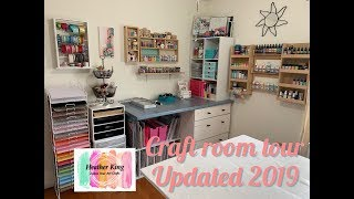 Craft Room Tour - updated 2019