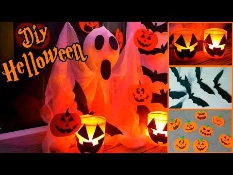 Украсить квартиру на хэллоуин своими руками
