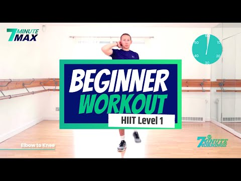 7 Minute Hiit Workout for Beginners (Follow Along)