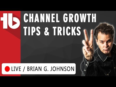 How To Grow A Small Channel w. Brian G. Johnson