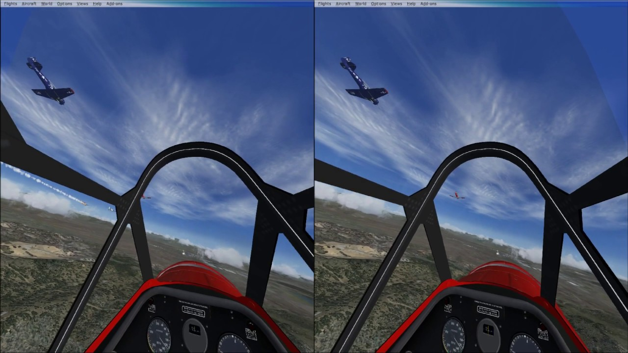Racing at Reno in a FASA AT-6 in Virtual Reality with the HTC Vive