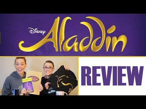 Disney Aladdin Musical REVIEW - Pantages Tour + GIVEAWAY