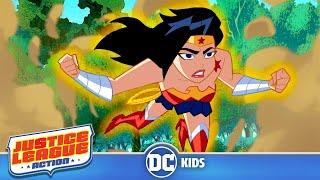 Justice League Action | Wonder Woman Face-Off | DC Kids