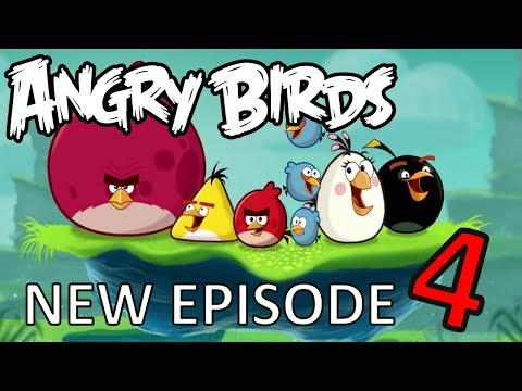 Angry Birds cartoons for kids new funny episodes Angry Birds movie for children new season #4...