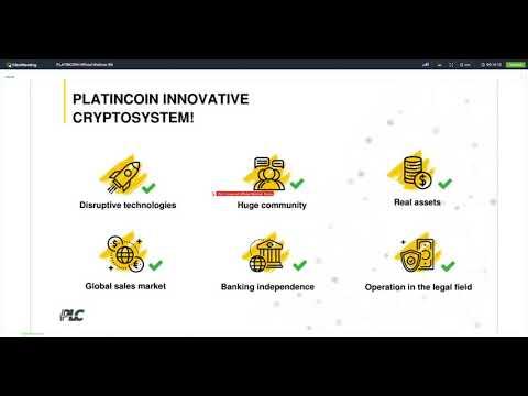 PLATINCOIN  EN  WEBINAR PLC English