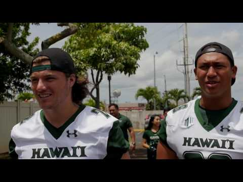 "Hawaii Football Operation ""I"
