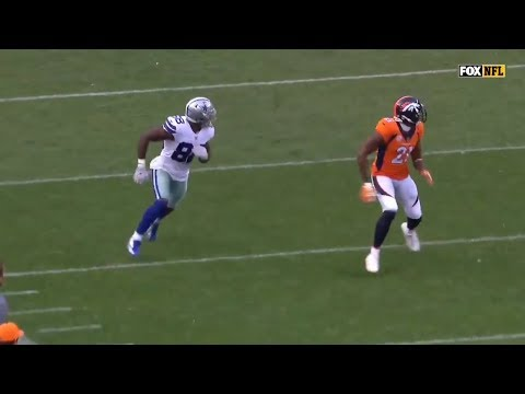 Dez Bryant vs Aqib Talib & Chris Harris Jr (2017) | WR vs CB Matchup