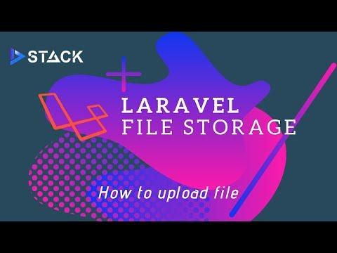 Cara Upload File Laravel