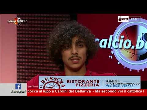 Icaro Sport. Calcio.Basket del 6 novembre 2017 - Serata Basket
