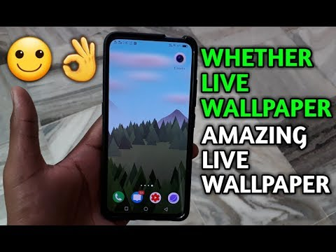 Whether Live Wallpaper Any Android Devices Amazing Live Wallpaper [HINDI]