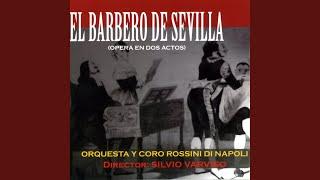 """El Barbero de Sevilla: """"Ora mi sento meglio, questo"""""""