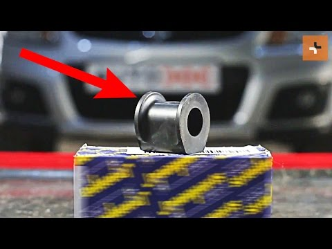 How to replace Front stabilizer bushes on SUZUKI SX4 1 TUTORIAL | AUTODOC