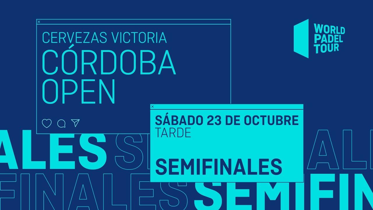 Download Semifinales Tarde - Cervezas Victoria Córdoba  Open 2021  - World Padel Tour