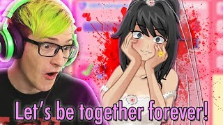 WE CAN MARRY YANDERE CHAN!? | Crush Crush (Voice Acting Update)