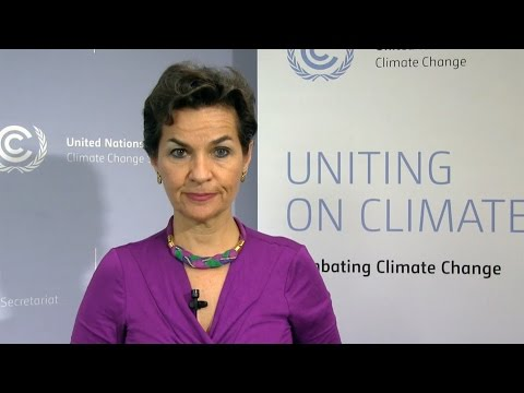 Christiana Figueres addresses World Green Economy Summit