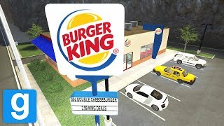 Burger King in Garry's Mod