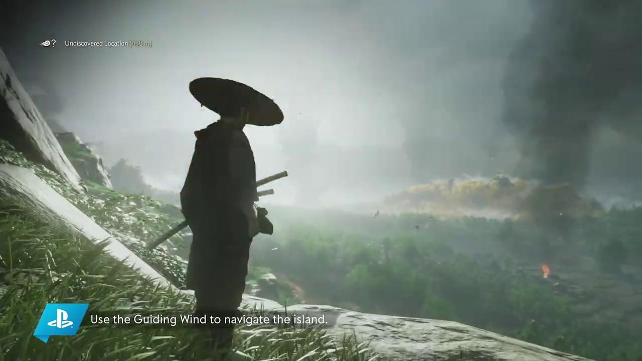 PS4 I Ghost of Tsushima 18분 게임 플레이 영상 (State of Play)