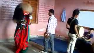 newari culture lakhe dance practice 2013
