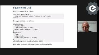 Responsive JSXGraph graphs (replacing Javascript with CSS) - Talk.CSS #55